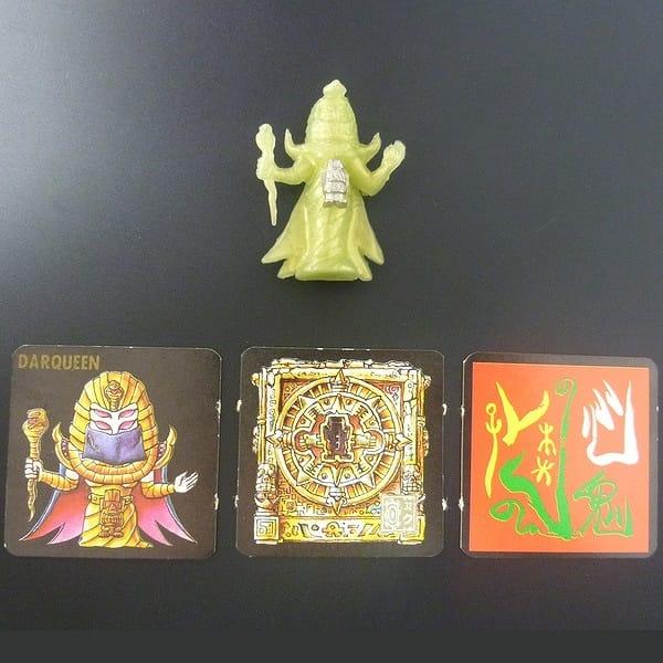 ネクロスの要塞 6弾 消しゴム 人形 カード ダークィーン