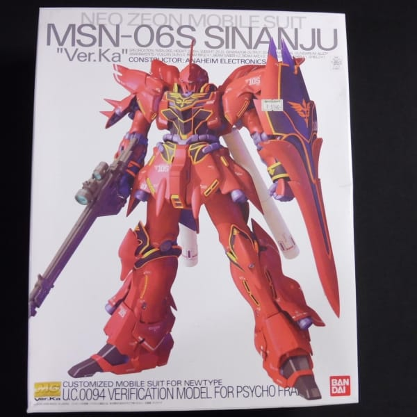 MG 1/100 MSN‐06S シナンジュ Ver.Ka / ガンダムUC