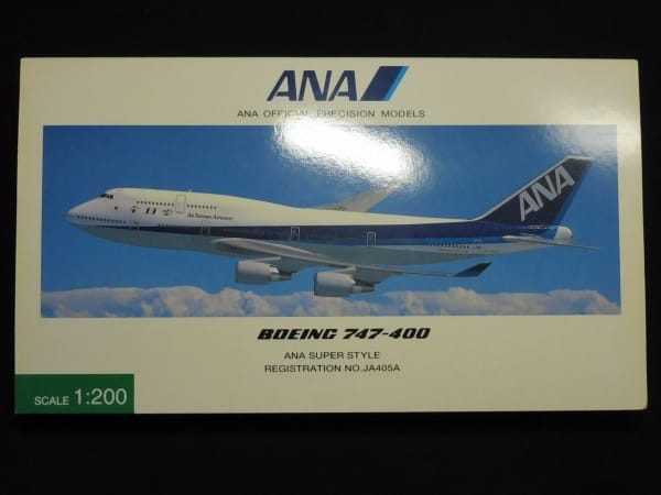 全日空商事 ANA 1/200 BOEING 747-400 JA405A NH 20005