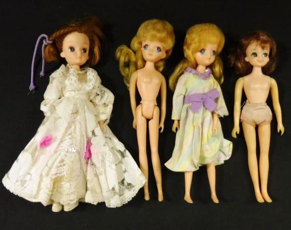 タカラ リカちゃん まとめて 日本製 / 着せ替え人形