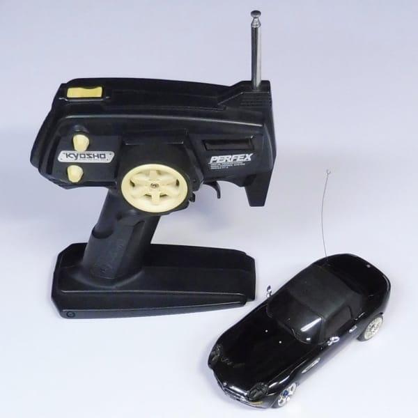 京商 ミニッツ MR-01 , PERFEX KT-2 , BMW Z8 黒 ボディ