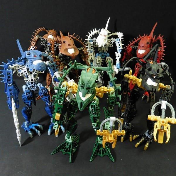 レゴ LEGO バイオニクル ピラカ ハカーン ヴェゾック 他