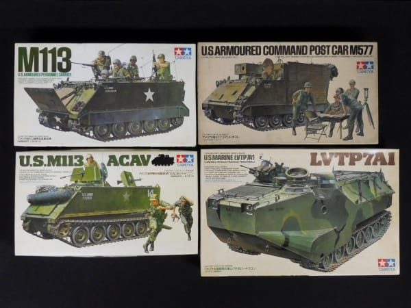 小鹿 タミヤ 1/35 M113 ACAV バトルワゴン M577 LVTP7A1