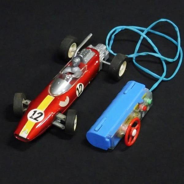 バンダイ ハンドルリモコン フォーミュラカー ブリキ F1