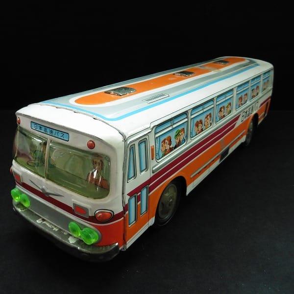 イチコー ブリキ 高速バス 当時物 日本製 /フリクション