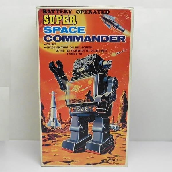 堀川玩具 スーパースペースコマンダー 電池駆動 ロボ