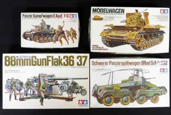 タミヤ 1/35 独 II号戦車 メーベルワーゲン 88ミリ砲 他