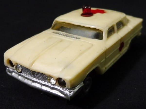 マルサン 当時 スロットカー アンビュランス/ HO 救急車