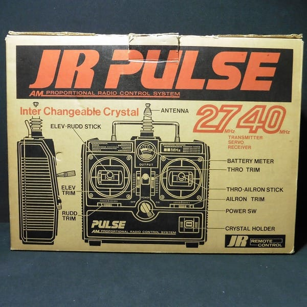 ラジコン JR PULSE SYSTEM D4C-3S /サーボ NES-502 505