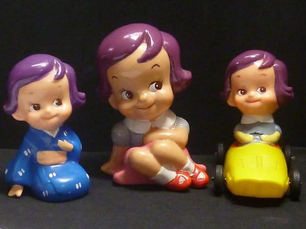 勧業銀行 かんぎん のばらちゃん 貯金箱 ソフビ 人形