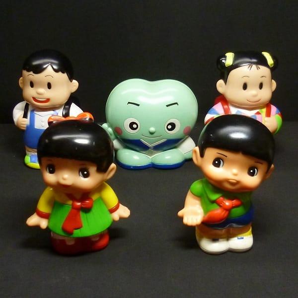 朝銀 朝鮮信用組合 ソフビ 貯金箱 男の子 女の子 他