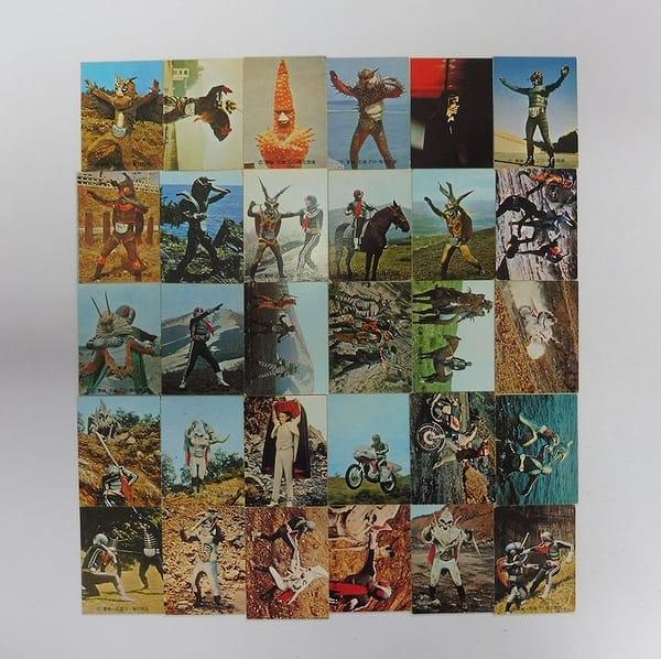 カルビー 旧 仮面ライダー カード 181 - 204 セミコンプ