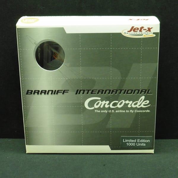 ドラゴン Jet-x 限定 1/400 コンコルド ブラニフ航空
