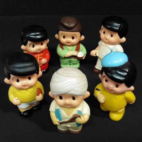 信用金庫 信ちゃん ソフビ 貯金箱 銀行 レトロ 昭和