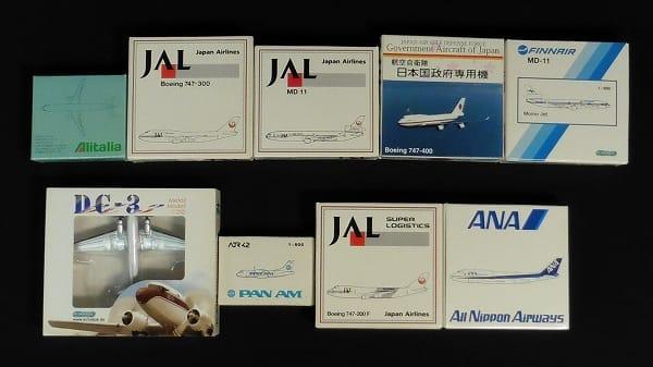JAL ANA 1/600 ボーイング747-300 日本国政府専用機 他