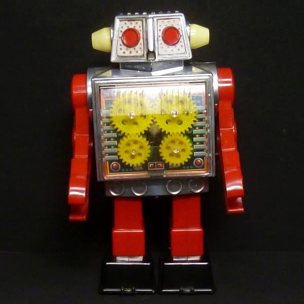 ホリカワ 堀川玩具 ニューギヤロボット ゼンマイ 当時物
