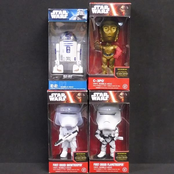 FUNKO STARWARS ボブルヘッド R2-D2 C-3PO 他 / 首振り