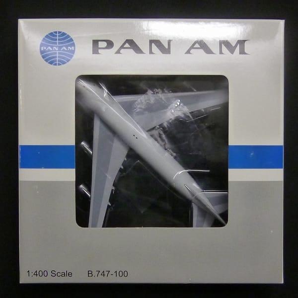 Bigbird 1/400 B747-100 PANAM パンナム パンアメリカン