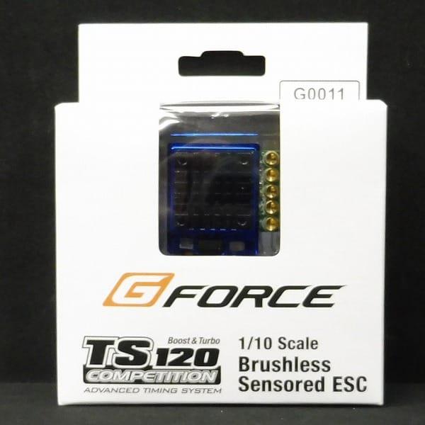 Gフォース ブラシレスアンプ  TS120A コンペティション
