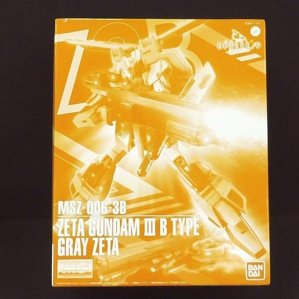 プレバン限定 1/100 MG Zガンダム 3号機 グレイ・ゼータ