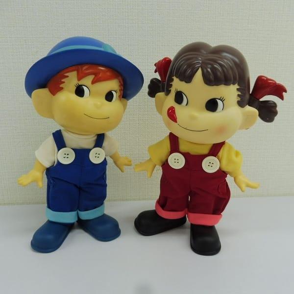 フジヤ ペコちゃん ポコちゃん 人形 フィギュア ペア