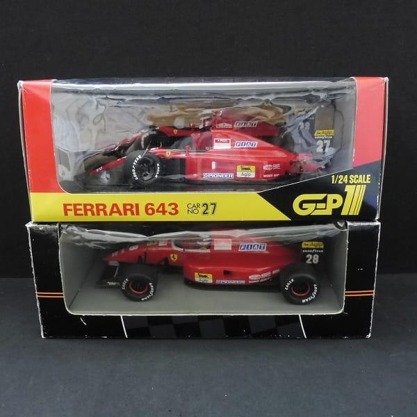 1/24 フェラーリ 643 F92A IVAN CAPELLI ミニカー F1