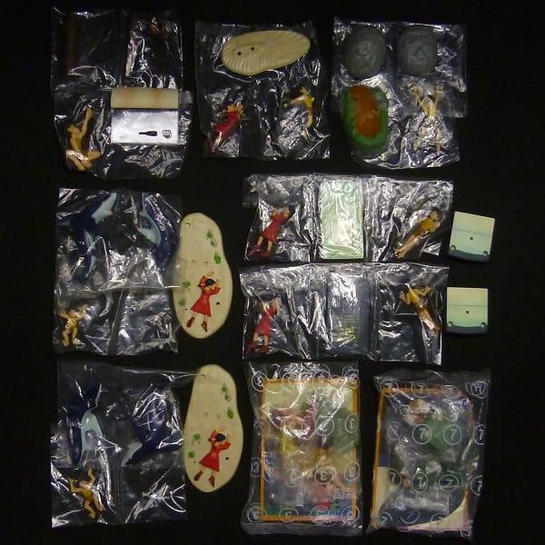 カバヤ 未来少年コナン 情景フィギュア 7種 / 宮﨑駿