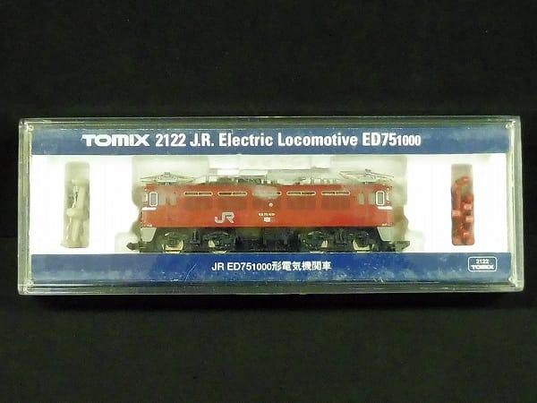 TOMIX Nゲージ 2122 JR ED75 1000形 電気機関車 動力車