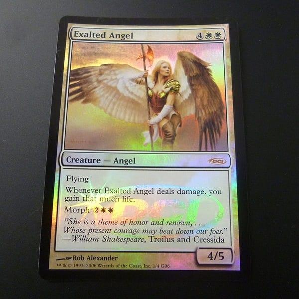 MTG 賛美されし天使 Exalted Angel Foil ジャッジプロモ