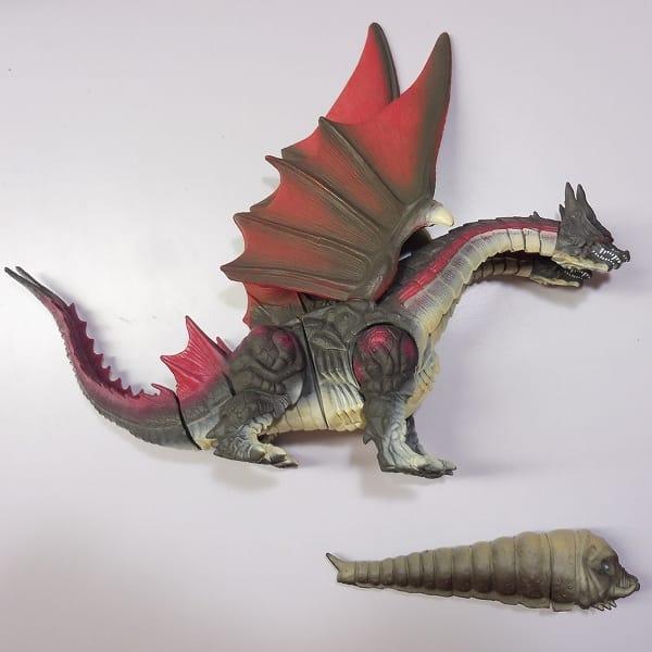 バンダイ 怪獣 ソフビ デスギドラ モスラ 幼虫 / 1996