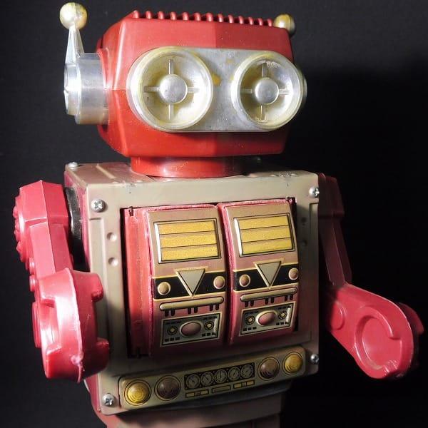 堀川玩具 デラックス 火星大王 ブリキ ロボット 日本製