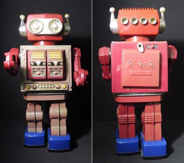 堀川玩具 デラックス 火星大王 ブリキ ロボット 日本製_2