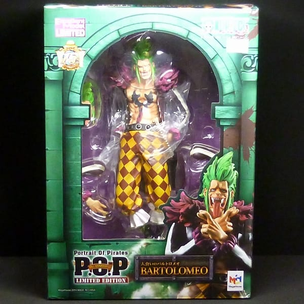 P.O.P ワンピース Limited Edition バルトロメオ POP