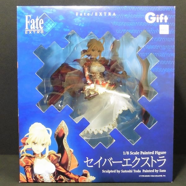Gift ギフト 1/8 Fate/EXTRA セイバーエクストラ