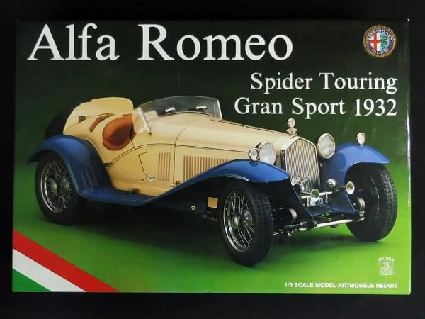 ポケール K73 1/8 アルファロメオ スパイダー 1932