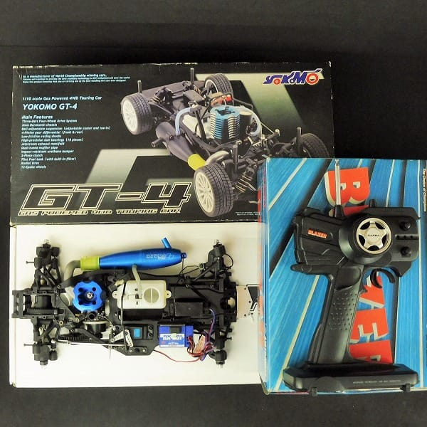ラジコン ヨコモ 1/10 GT-4 RX12ハイパーR / プロポ付_1
