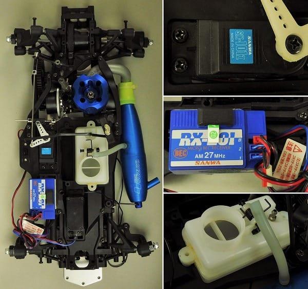 ラジコン ヨコモ 1/10 GT-4 RX12ハイパーR / プロポ付_2