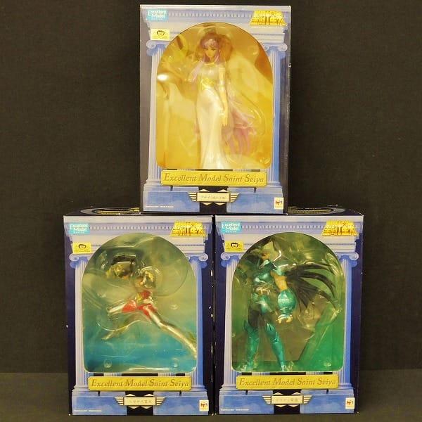 メガハウス フィギュア 星矢 紫龍 アテナ / 聖闘士星矢