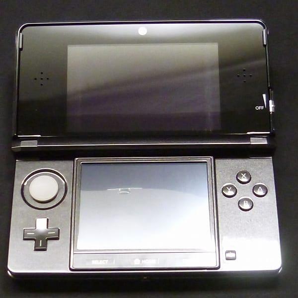 任天堂 NINTENDO 3DS 本体 CTR-001 JPN コスモブラック_3