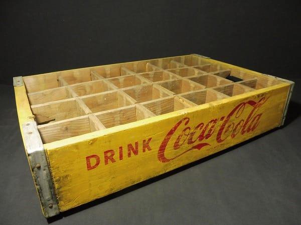 コカ・コーラ 木製 ボトル ケース 当時物 / 昭和レトロ
