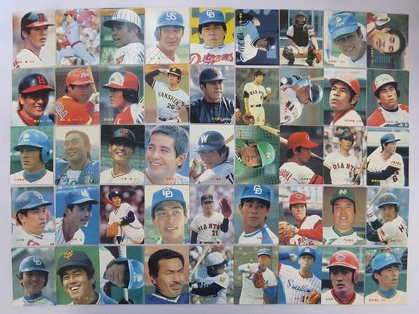 カルビー 当時物 プロ野球 カード 1984年 No.1~49 45枚_1