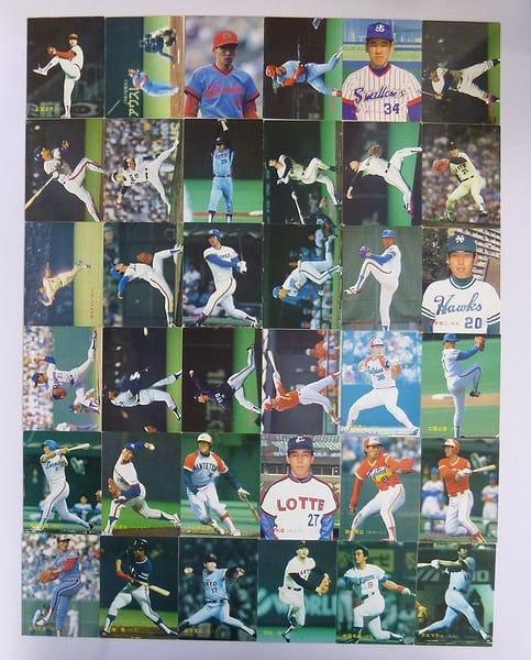 カルビー 当時 プロ野球 カード 88年 No.116~160 36枚_1