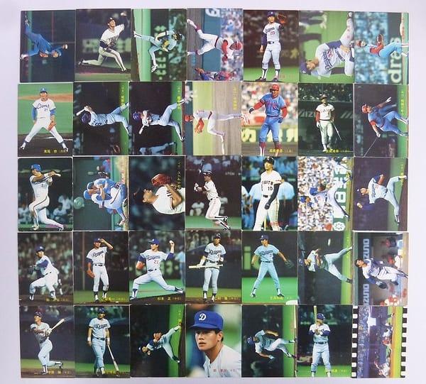 カルビー 当時 プロ野球 カード 88年 No.201~305 35枚_1