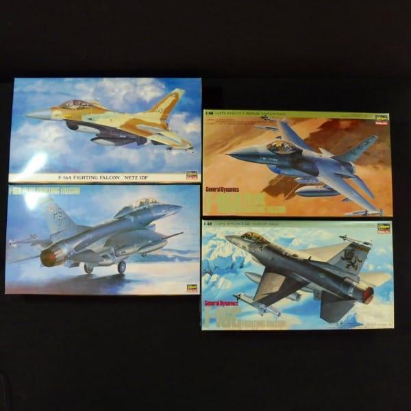 ハセガワ 1/48 F-16まとめて F16A PLUS 他