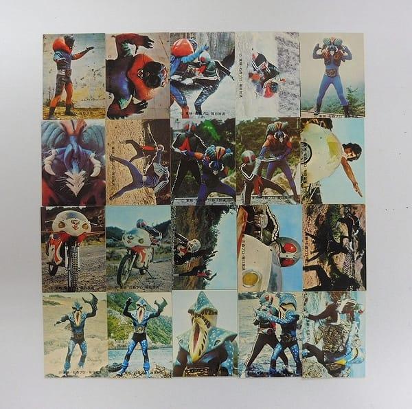 カルビー 旧 仮面ライダー カード 216 - 235 コンプ