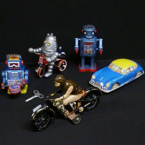ブリキ玩具まとめ マスダヤ アンティークロボットR-35他
