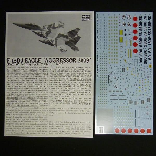 ハセガワ 1/48 F-15DJ イーグル アグレッサー 2009_3