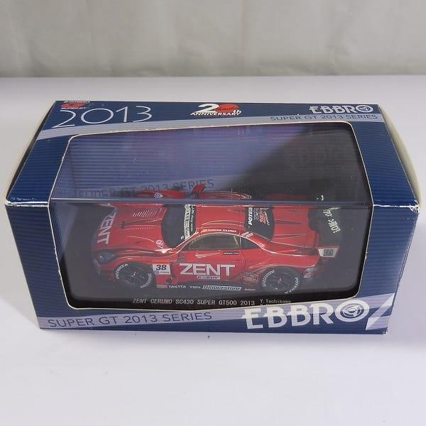 エブロ 1/43 No.38 ZENT CERUMO SC430 /レクサス GT500_1
