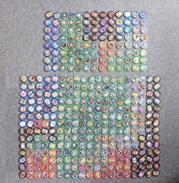 妖怪ウォッチ 妖怪メダル 370枚 キラ ジバニャン