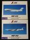 JAS 1/500 MD-90 3号機 JA8063 4号機 JA8062 航空機
